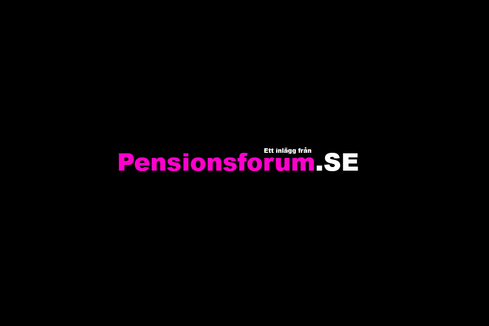 Age and decision making of relevance for pensions